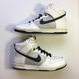 Nike Dunk High White/Black Men's Shoes Size 8.5